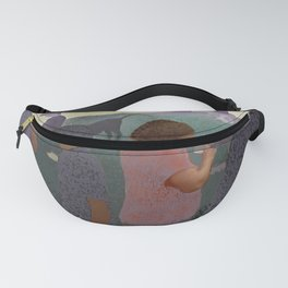 At the Park In Seuratland Fanny Pack