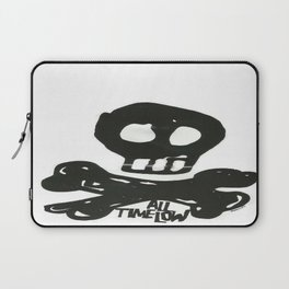 All Time Low Skull and Cross Bones Laptop Sleeve