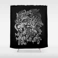 Jaguar Warrior Shower Curtain