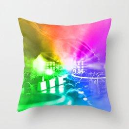 God is a DJ Throw Pillow