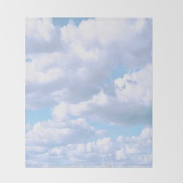 Silver Lining Throw Blanket