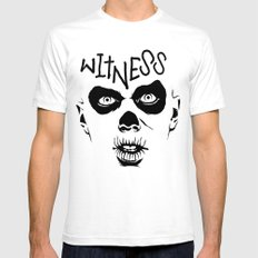Witness SMALL Mens Fitted Tee White