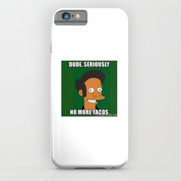 no love no tacos iPhone Case
