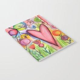 Many Hearts Heal Notebook