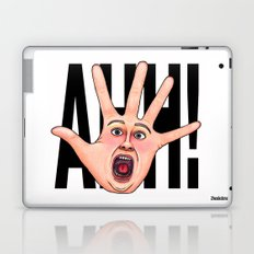 Five Fingered Face Laptop & iPad Skin