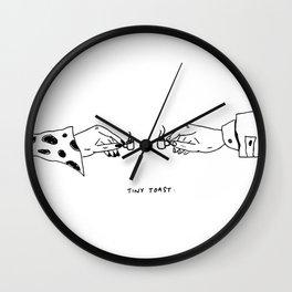 Tiny Toast Wall Clock
