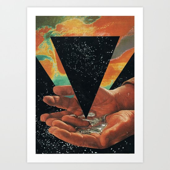disruption of his world... (Paradise) Art Print