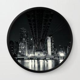 NYC Skyline Wall Clock