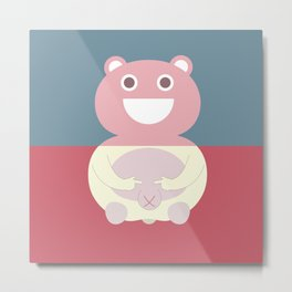 Pantless Project / TEDDY Metal Print