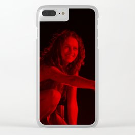 Teresa Palmer - Celebrity (Photographic Art) Clear iPhone Case