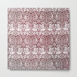 """William Morris """"Brer rabbit"""" 7. Metal Print"""