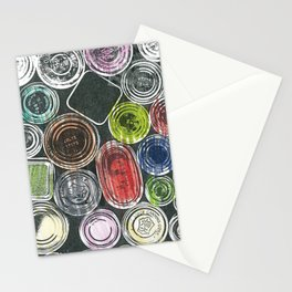 The painter's stuff Stationery Cards