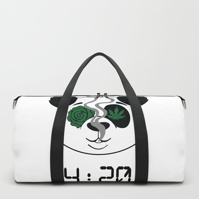 4:20 Panda (4/20 Edition) Duffle Bag