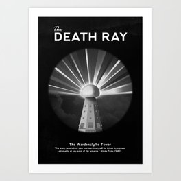 The Death Ray Art Print