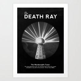 The Death Ray Art Print