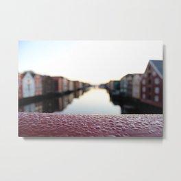 City of Trondheim. Metal Print