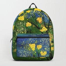 My Yellow Flowers II Backpack