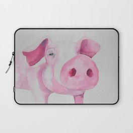 Fuchsia Piggy Laptop Sleeve
