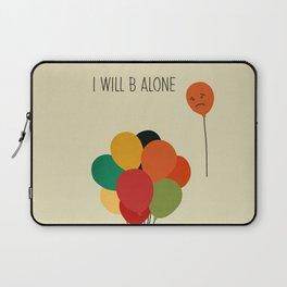 Be alone Laptop Sleeve