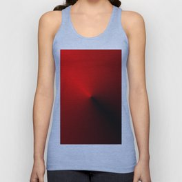 Leader - Red and Black Unisex Tank Top