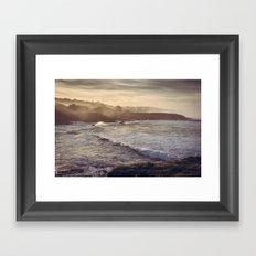 Cambria California Coastline Framed Art Print