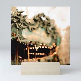 New York Carousel Mini Art Print