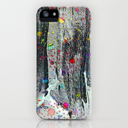 Not Just Another Face In The Crowd Painting iPhone Case