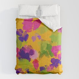 The Floral Watercolor Comforters