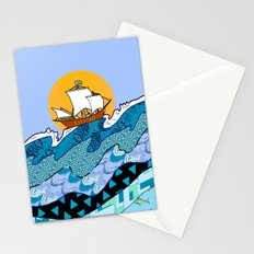 Sailing the High Seas Stationery Cards