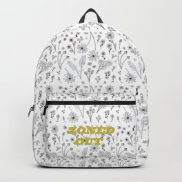 Zoned Out II - With Text Backpack