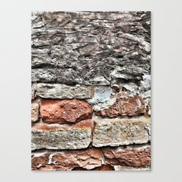 Tuscan Bricks Canvas Print