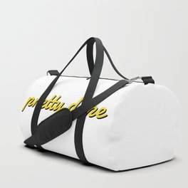 Pretty Dope Mellow yellow Duffle Bag
