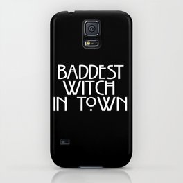 Baddest Witch In Town AHS iPhone Case