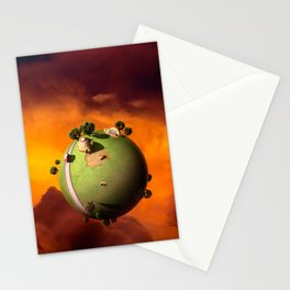 Kaito's Planet Stationery Cards