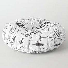 physics Floor Pillow