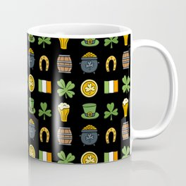 St Patricks day pattern Coffee Mug
