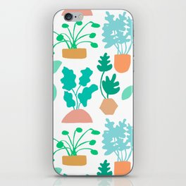 Houseplant Garden iPhone Skin