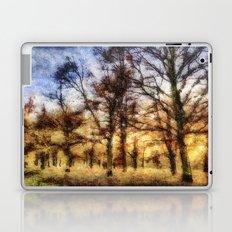 Pastel Sunset Trees Laptop & iPad Skin