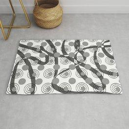 Love Laces grey Rug