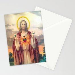 Vintage beaded Jesus is my Homeboy Stationery Cards