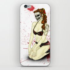 Pin-Up Ghoul iPhone & iPod Skin