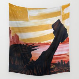 Cell Power Wall Tapestry