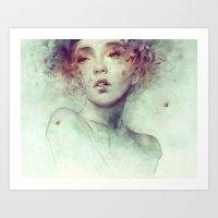 kpop Art Prints featuring Swarm by Anna Dittmann