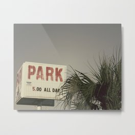 Park All Day Metal Print