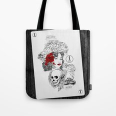 Peace & War Tote Bag