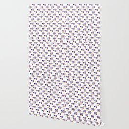 T-Rex Pattern Design Wallpaper