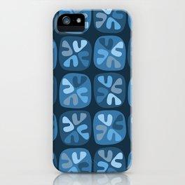 blue boomerangs iPhone Case