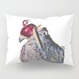 Gyrfalcon - falcon painting Pillow Sham