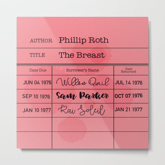 THE BREAST (1972) Metal Print