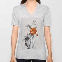 Rose 3 Unisex V-Neck